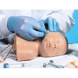 Fantom główki noworodka do kaniulacji naczyń żylnych
