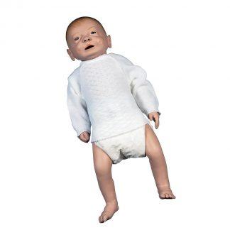Męski model noworodka