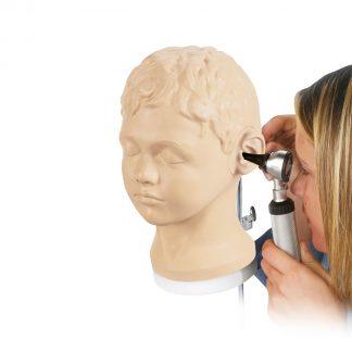 Trenażer do diagnostyki i zabiegów ucha