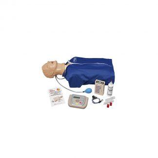 Zaawansowany fantom Airway Larry do defibrylacji intubacji EKG